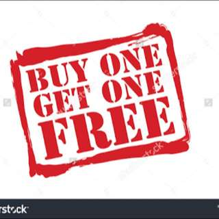 Buy One Get One Free!!