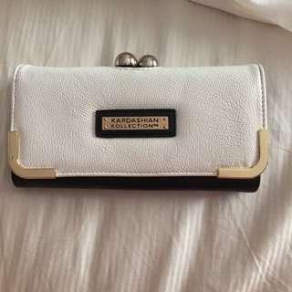 Kardashian Kollection White And Black Wallet #2