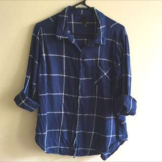 Factorie Flannel Button Up