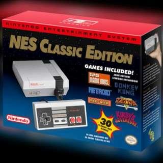 Nintendo Classic Mini 30 Games Pre-installed.