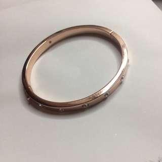 Rose Gold Kate Spade Bracelet