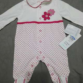 BNWT Romper / Pajamas From Kiddy Palace