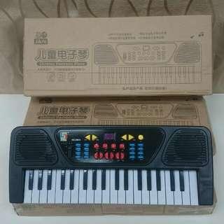 37鍵單喇叭多功能學習電子琴玩具 功能正常福利品