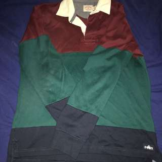 Brooks Brothers Red Fleece Rugby Shirt
