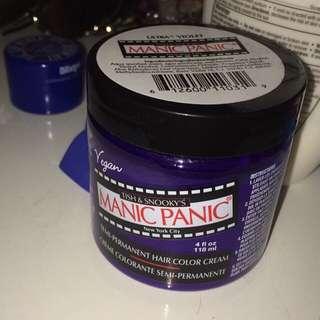 Purple Manic Panic Hair Dye