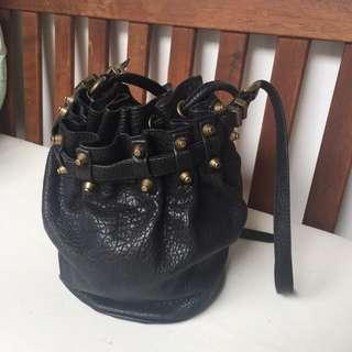 Authentic Xsml Genuine Leather Bag