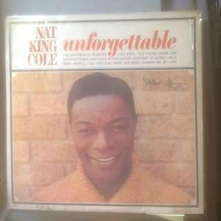 Vinyl Nat King Cole Unforgettable Album