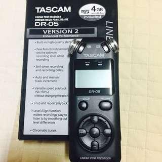 Tascam Dr-05 (Version 2)