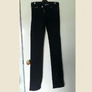 Black Denim Jeans Size 6