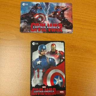 Limited Edition Marvel Ez-link Card!