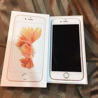 iphone 6s 128g 玫瑰金 保固尚未開始