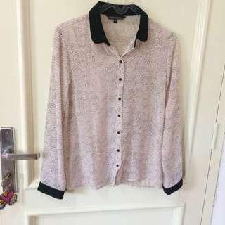 Pink Polka Shirt
