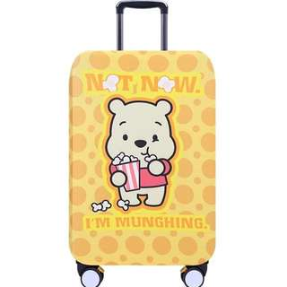 PO Winnie The Pooh Bear Stretchable Luggage Casing