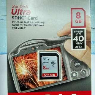 Sandisk Ultra 8gb / 40mbps