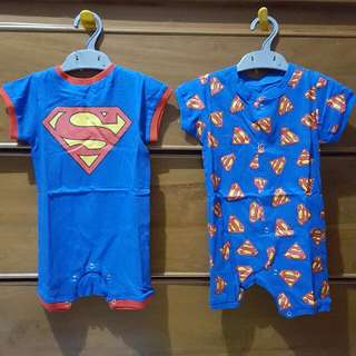 Set Romper Superman (2pcs)