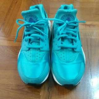 Nike Huarache 湖水綠波鞋