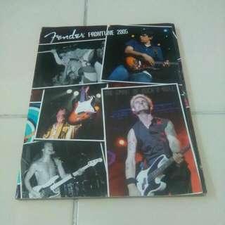 Majalah Fender Frontline - 2005