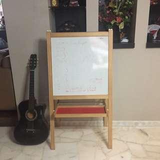 Ikea Whiteboard And Chalkboard 2-in1