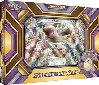 Authentic Pokemon Card Kangaskhan-EX Box Set