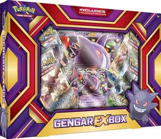 Authentic Pokemon Card Gengar-EX Box Set