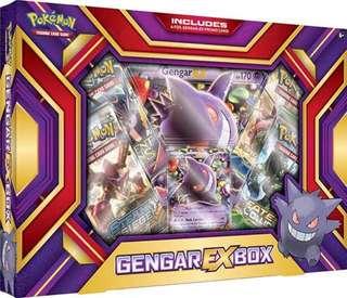 Authentic Pokemon Card Gengar-EX Box Set