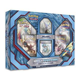 Authentic Pokemon Cards Mega Gyarados Collection Box Set