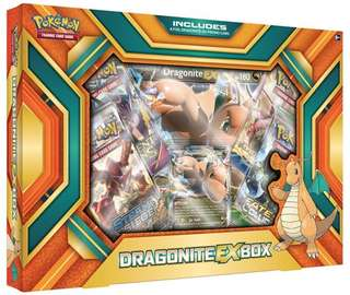 Authentic Pokemon CardDragonite-EX Box Set