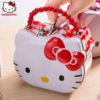 [特價優惠]熱銷款 Hello kitty 存錢筒 儲物盒 送兒童生日禮物首選