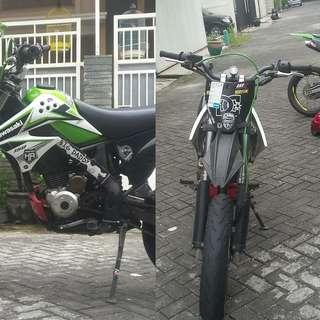 Kawasaki Dtracker 150cc 2013