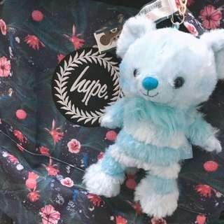 日本帶回 5周年大學熊 7月藍色妙妙貓款 隱藏版 舒芙蕾