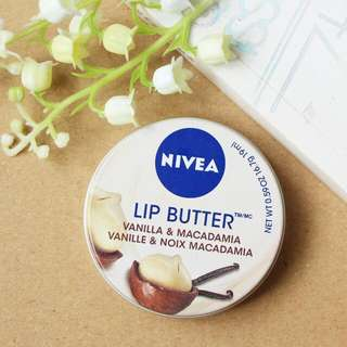 Nivea Lipbutter Macadamia
