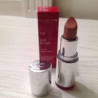 Clarins Paris  Lipstick ~Joli Rouge ~#718