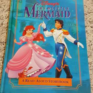 Little Mermaid- Disney Picture Book
