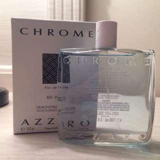 Chrome Azzaro EDT 100ml NEW TESTER