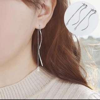 兩用垂墜式耳環