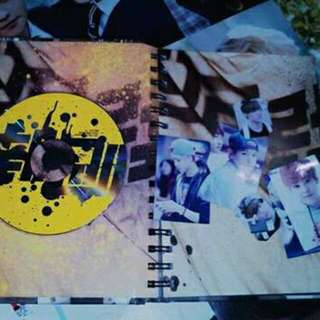 EXO M GROWL (Preloved)