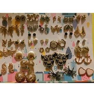 H&M 耳環 earring $10/對 10送1