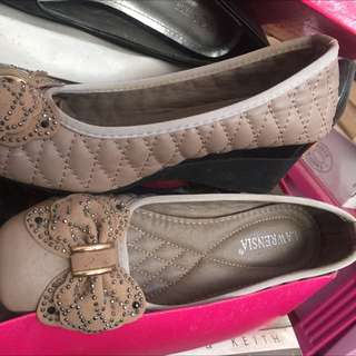 Preloved Lawrencia Wedges Shoes