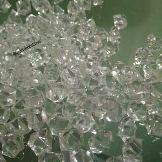 Clear Filler Crystal Beads For Vases Or Fishbowl Slime