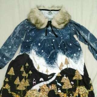 日本專櫃Scolar童話感洋裝
