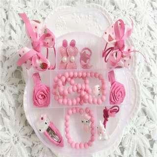 Hello Kitty Fashion Ornaments Set