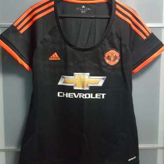 Manchester United 2015/16 3rd Kit Jersey (100% Authentic) - Ladies (Size L)