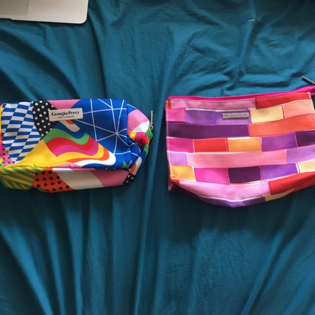2 brand new clinique makeup bags