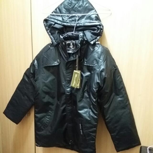 黑色冬天外套