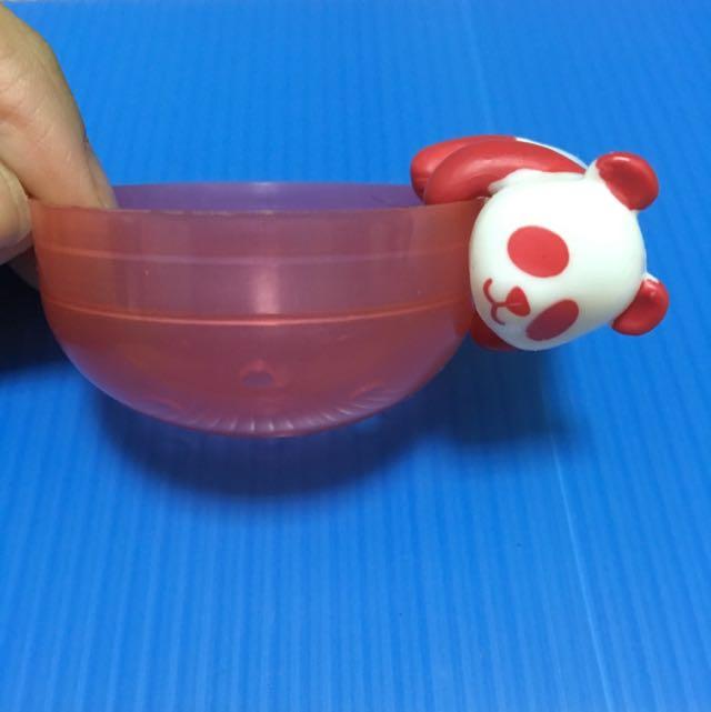 《扭蛋》可愛熊貓杯緣子