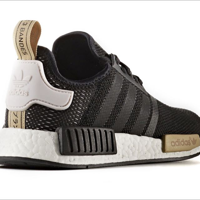 Reserved* Adidas NMD R1 Core Black/Gold