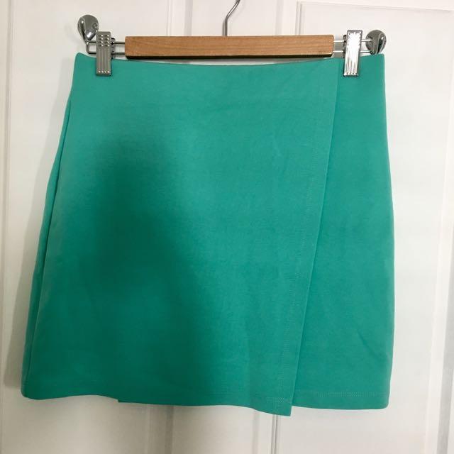 ASOS Green Skirt
