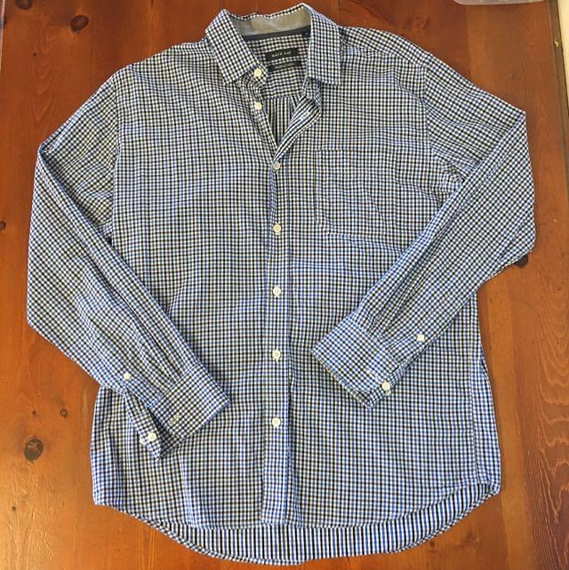 Back Bay Premium Cotton Button Up