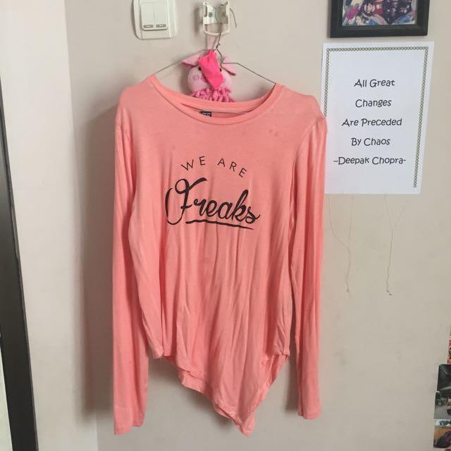 baju pink pastel