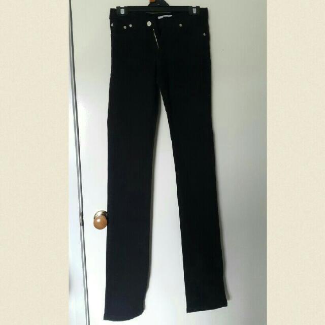 Black Denim Jeans Size 6